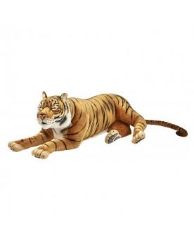 Tigre brun couché 150 cm HANSA  –Serpent à Lunettes