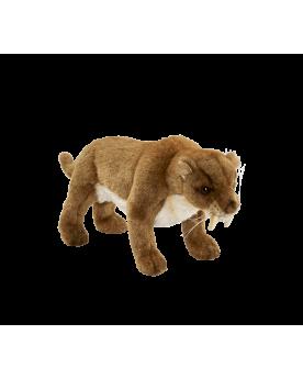 Tigre à dents de sabre 31 cm Hansa  –Serpent à Lunettes