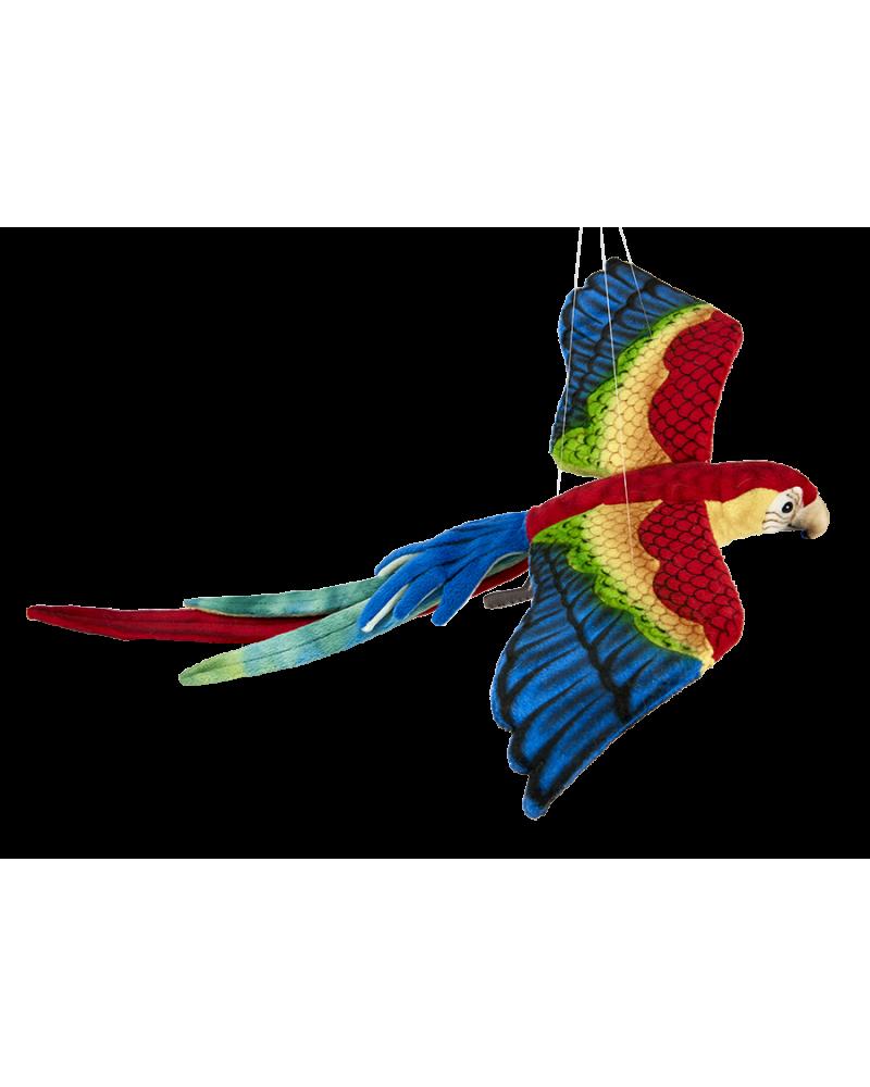 Ara en vol 50 cm Hansa  –Serpent à Lunettes