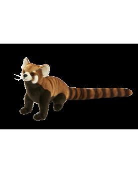 Panda roux assis 20 cm HANSA  –Serpent à Lunettes