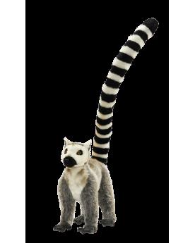 Lémur 4 pattes 48 cm HANSA  –Serpent à Lunettes