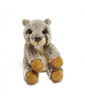Marmotte Doo assise 16 cm ANIMA  –Serpent à Lunettes