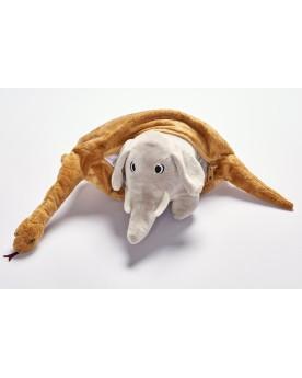 Range doudou Boa Petit Prince 60 cm ANIMA  –Serpent à Lunettes