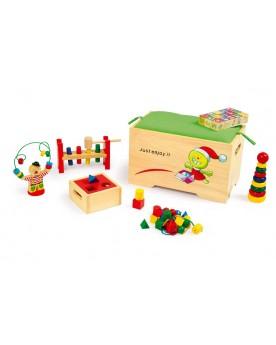 Coffre à jouets Jouets de motricité  –Serpent à Lunettes