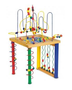 Circuit de motricité «Table de jeu» Jouets de motricité  –Serpent à Lunettes