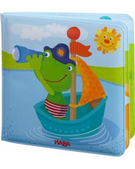 Livre de bain Capitaine grenouille Lire, écrire, compter  –Serpent à Lunettes