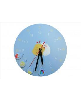 L'horloge d'Achille et ses 12 magnets Jeux et outils relationnels  –Serpent à Lunettes