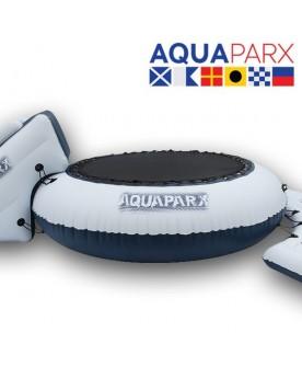Trampoline-toboggan gonflable Jeux aquatiques  –Serpent à Lunettes