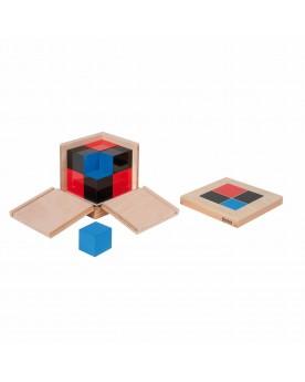 Cube binomial Mathématiques  –Serpent à Lunettes