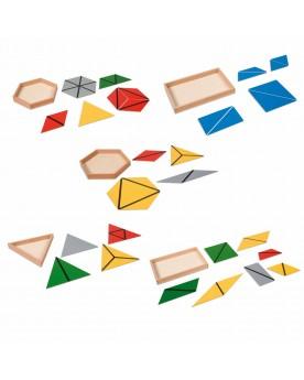 Triangles de construction Mathématiques  –Serpent à Lunettes