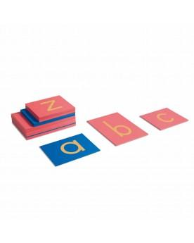 Lettres rugueuses minuscules: Alphabet international Langage  –Serpent à Lunettes