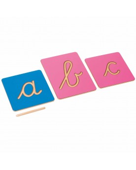 Lettres cursives creuses: Alphabet international Langage  –Serpent à Lunettes