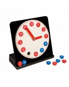 Horloge avec chiffres amovibles Mathématiques  –Serpent à Lunettes