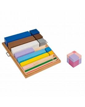 Matériel d'élévation au cube Mathématiques  –Serpent à Lunettes