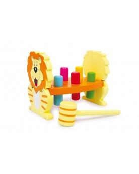 Banc à marteler «Lion» Jouets à marteler  –Serpent à Lunettes