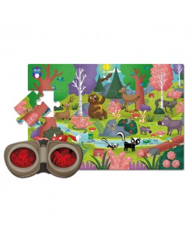 """Secret puzzle """"Forêt"""" Puzzles  –Serpent à Lunettes"""