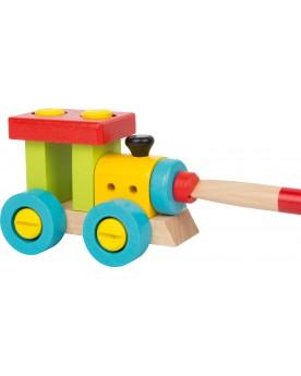 Locomotive à construire Jouets à assembler  –Serpent à Lunettes