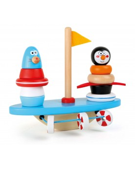 Balancier jouet à encastrer Pôle Sud Jouets à empiler ou encastrer  –Serpent à Lunettes