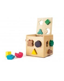 Cube à formes Jouets à empiler ou encastrer  –Serpent à Lunettes