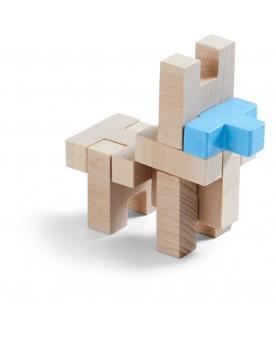 Jeu d'assemblage en 3D AERIUS Jouets à assembler  –Serpent à Lunettes