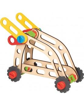 Valise avec kit de construction de véhicules Jouets à assembler  –Serpent à Lunettes