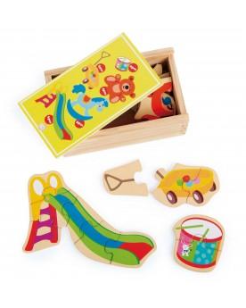 """Boîte de Puzzle \\""""Mon jouet préféré\\""""  Puzzles  –Serpent à Lunettes"""