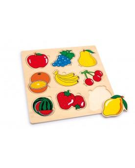 Puzzle «Fruits» Puzzles  –Serpent à Lunettes