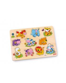 Puzzle «Jeunes animaux» Puzzles  –Serpent à Lunettes
