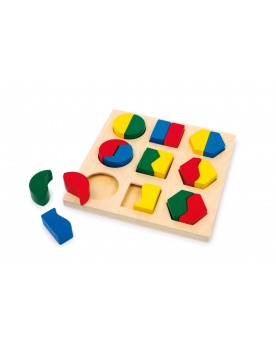 Puzzle à encastrer Paires de formes Puzzles  –Serpent à Lunettes