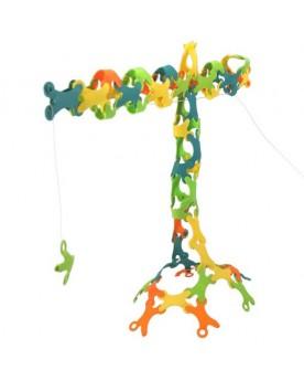 Binabo 60 pièces Jouets à assembler  –Serpent à Lunettes